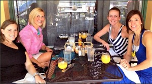 Outdoor Brunch with My Besties in December